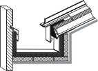 Innenliegende kastenrinne detail  SPENGLERTECHNIK.NET - Das Branchen-Portal für Architekten ...